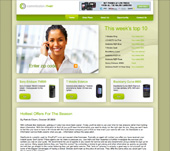 Mobile Phone Distribution Website